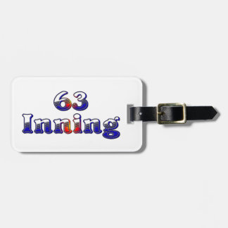 63 Inning Bag Tags