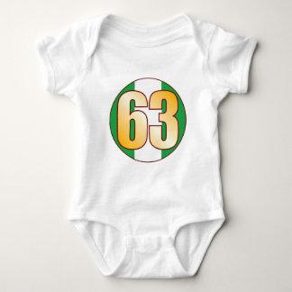 63 NIGERIA Gold Baby Bodysuit