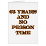63 ninguna hora de prisión tarjeton