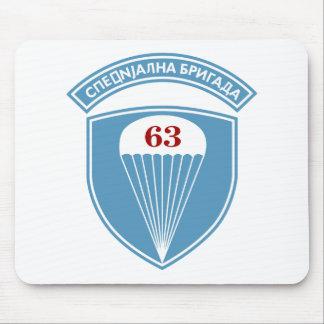 63 Paracaídas del servio 63 o del bataljon de Pad Alfombrillas De Ratones