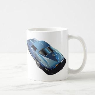 63_Split Window_Blue Classic White Coffee Mug