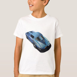 63_Split Window_Blue T-Shirt