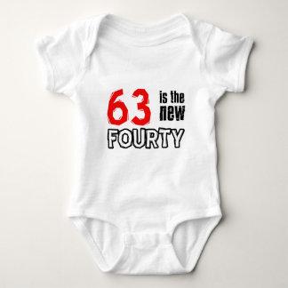 63 year old designs baby bodysuit