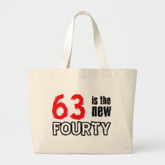 63 year old designs large tote bag