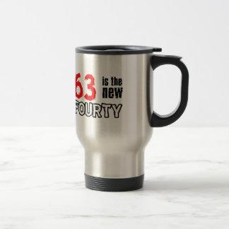 63 year old designs travel mug