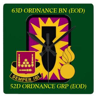 63D ORDNANCE BATTALION (EOD) CLOCK