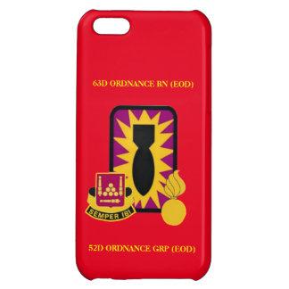 63D ORDNANCE BATTALION (EOD) iPHONE CASE