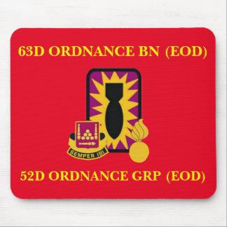 63D ORDNANCE BATTALION (EOD) MOUSEPAD