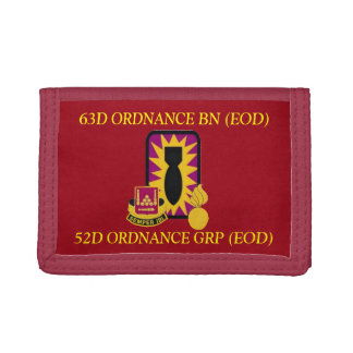 63D ORDNANCE BATTALION (EOD) WALLET