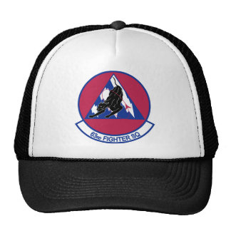 63rd Fighter Squadron Trucker Hat