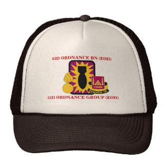 63RD ORDNANCE BATTALION (EOD) HAT