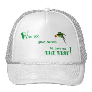 63When God Gave Cousins Trucker Hat