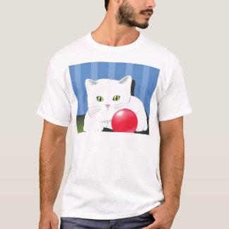 63White Cat_rasterized T-Shirt