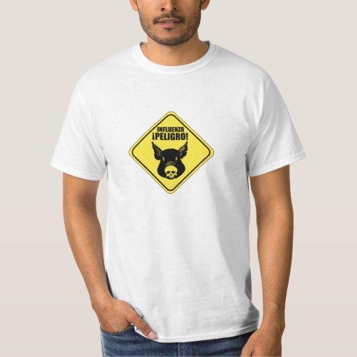 640_swine_flu_influenza t-shirt