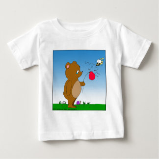 643 bee pops bears balloon cartoon baby T-Shirt