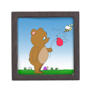 643 bee pops bears balloon cartoon gift box
