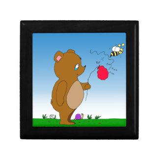 643 bee pops bears balloon cartoon jewelry box