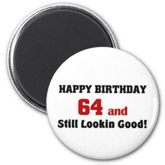 64 and still lookin good fridge magnets