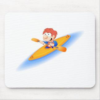 64_boy_paddler mouse pad