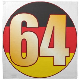 64 GERMANY Gold Cloth Napkin