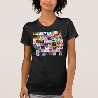 64 Heart on a t-shirt