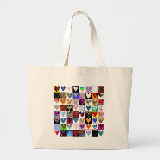 64 Hearts on a Bag