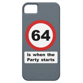 64 is when the Party Starts iPhone SE/5/5s Case