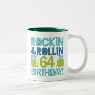 64.o Ideas del regalo de cumpleaños Taza De Dos Tonos