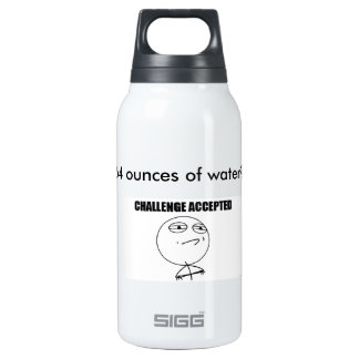 64 ounces of Challenge Insulated Water Bottle