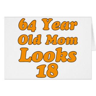 64 year old design card