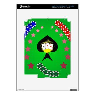 64Casino Logo_rasterized Decal For iPad 3