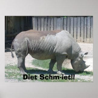 6506 Zoo Visit 006, Diet Schm-iet!! Poster