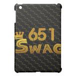 651 Area Code Swag Cover For The iPad Mini