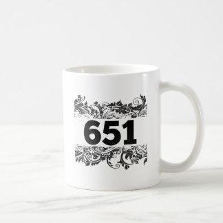 651 CLASSIC WHITE COFFEE MUG