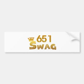 651 Minnesota Swag Bumper Sticker