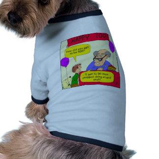 652 consiguen al dibujo animado 100 camiseta de perro