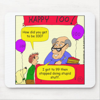 652 get to 100 cartoon mouse pad