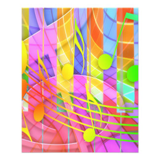 654580 COLORFUL MUSIC NOTES BACKGROUNDS WALLPAPERS FLYERS