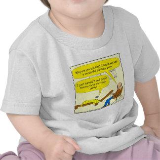 655 first birthday party cartoon t shirt