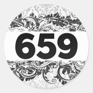 659 PEGATINAS REDONDAS