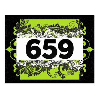 659 TARJETAS POSTALES