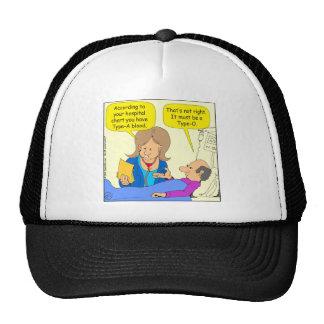 659 type-o cartoon trucker hat