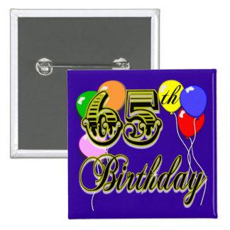 65.a mercancía feliz del cumpleaños pin
