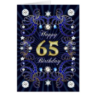 65.a tarjeta de cumpleaños con las masas de joyas