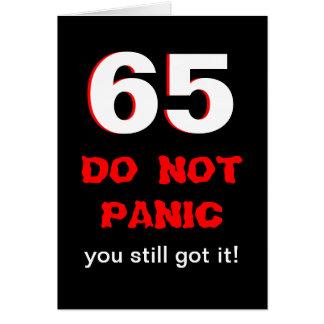 65.a tarjeta de cumpleaños divertida para los