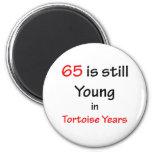 65 años de la tortuga imán de frigorifico