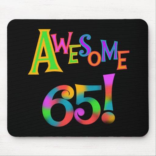 65 camisetas y regalos impresionantes del cumpleañ alfombrilla de ratones