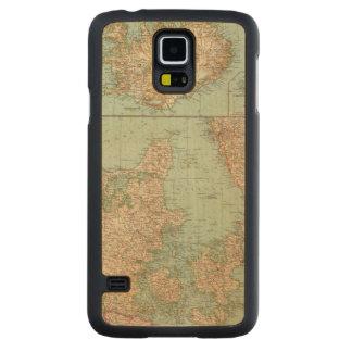 65 Denmark, Iceland Carved Maple Galaxy S5 Slim Case