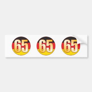 65 GERMANY Gold Bumper Sticker