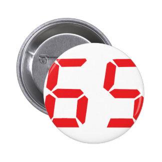 65 número digital del despertador de sesenta y cin pins
